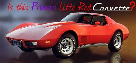 corvette prince what car inspired prince s corvette
