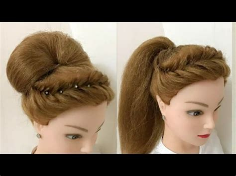 awesome hairstyles images 2 awesome hairstyles for wedding or party youtube