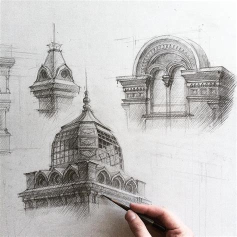 sketchbook architecture freehand architectural sketches demonstrate immense skill