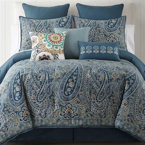 jcpenney home belcourt 4 pc comforter set jcpenney