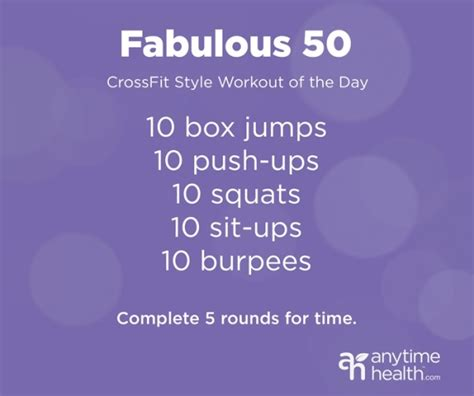 workout wednesday crush it with a crossfit style wod