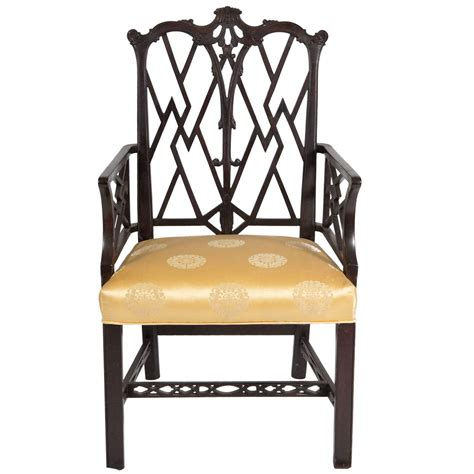 armchair styles chinese chippendale style arm chair for sale at 1stdibs