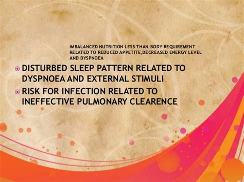 sleep pattern disturbance meaning chronic obstructive pulmonary disease