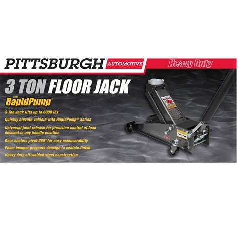 Pittsburgh 3 Ton Floor by 3 Ton Steel Heavy Duty Floor With Rapid 174