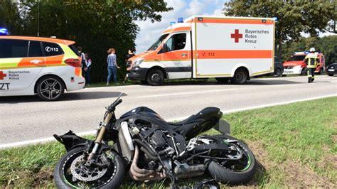 Motorrad Kawasaki Landshut by Erding H 246 Rlkofen Entsetzlicher Motorrad Unfall Schockiert
