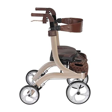 rollator with seat second drive nitro dlx style walker rollator