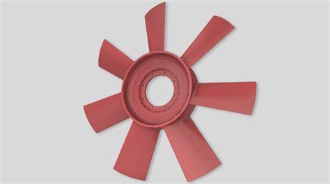 ladari con pale di ventilazione ventilazione industriale ventola assiale a 7 pale