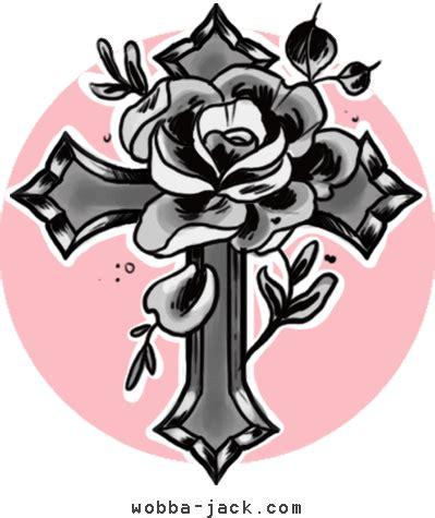 tattoo croce con ali significato significato tatuaggio croce wobba jack tattoo art