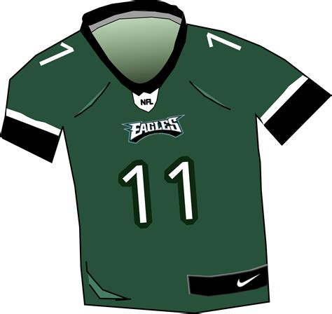 eagles jersey clipart eagles jersey