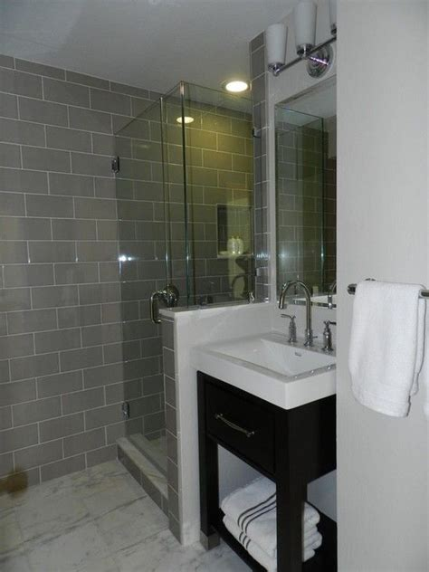 white and gray bathroom ideas 29 gray and white bathroom tile ideas and pictures