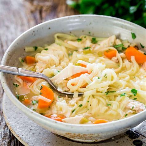 chicken noodle soup jo cooks