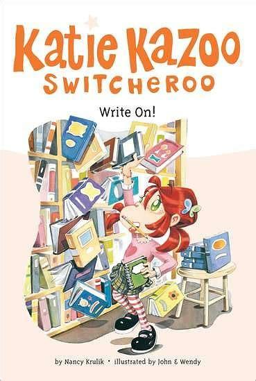 Write On Hardcover write on kazoo switcheroo series 17 by nancy