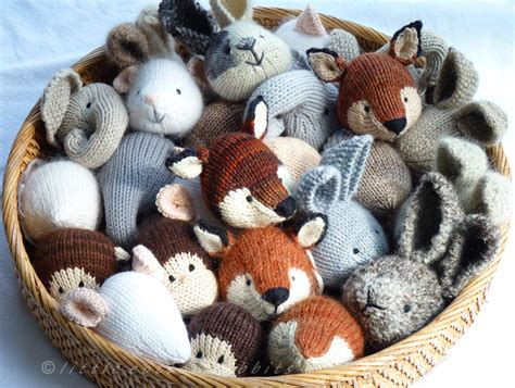 knitting patterns of animals isn t this just the cutest of knitted woodland