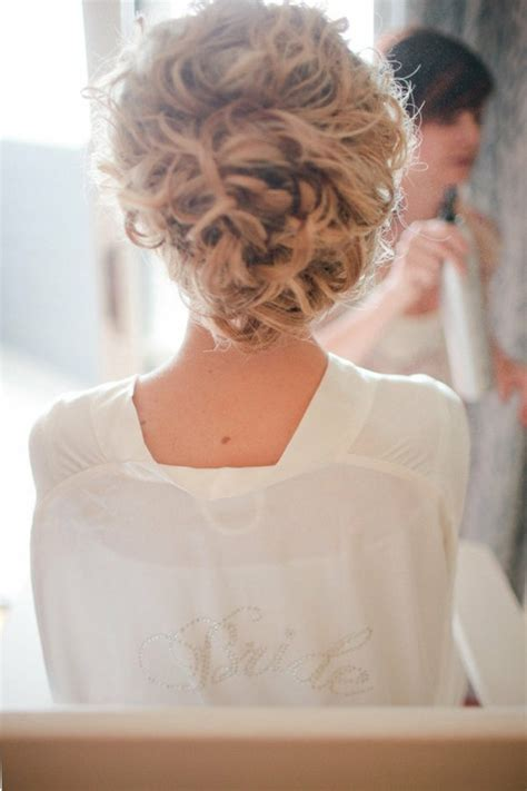 Wedding Hair Updo Curly by Updo Hair Model Wedding Wavy Updo Hairstyle 891017