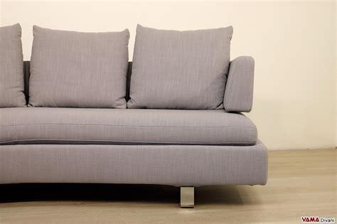 divani grandi dimensioni divano moderno semitondo in tessuto sfoderabile di grandi