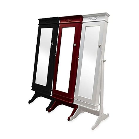 mirror standing jewelry armoire baxton studio bimini standing mirror jewelry armoire bed