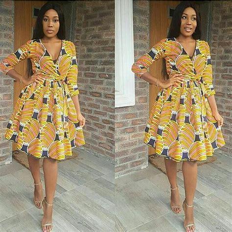 charming latest ankara short gowns   stylish ladies