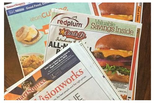 sunday coupon inserts cheap