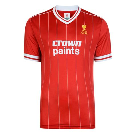 Jersey Retro Liverpool 93 liverpool 1982 shirt liverpool retro jersey score draw