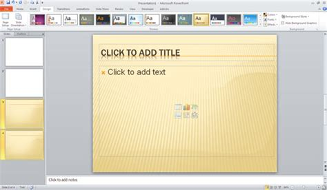 applying themes in powerpoint 2010 microsoft word powerpoint templates cpanj info