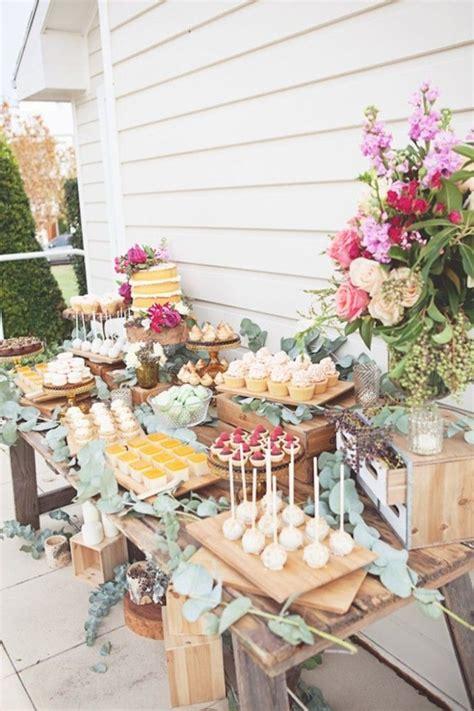 bridal shower table best 25 wedding dessert tables ideas on pinterest