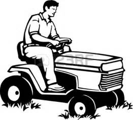 Lawn Mower Clipart Black And White  Panda Free sketch template