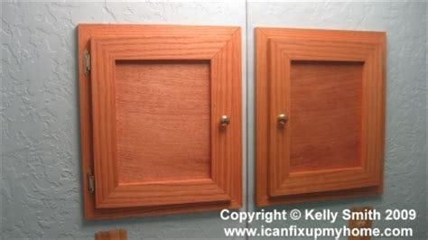 how to build a recessed medicine cabinet build a custom