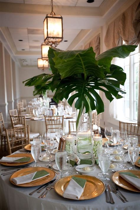 Green Weddings With The Carbonneutral Company Hippyshopper by 25 Best Ideas About Tropical Centerpieces On
