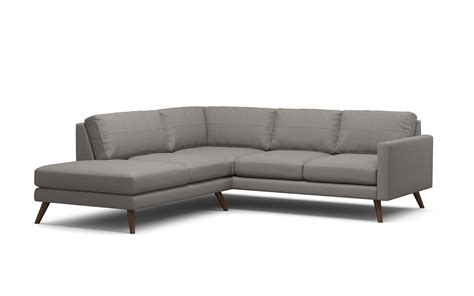 Corner Sectional Chair by Corner Sectional Sofas Verano Canvas Sectional Sofa