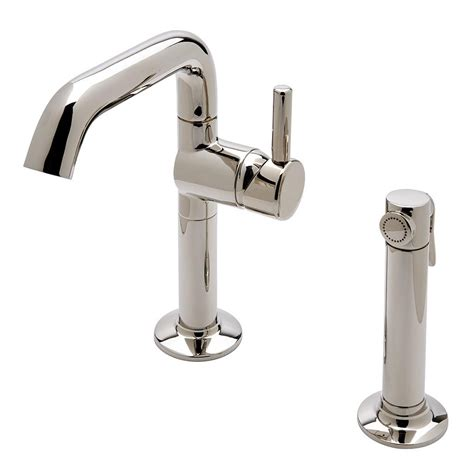 waterworks kitchen faucets waterworks odeon kitchen faucet