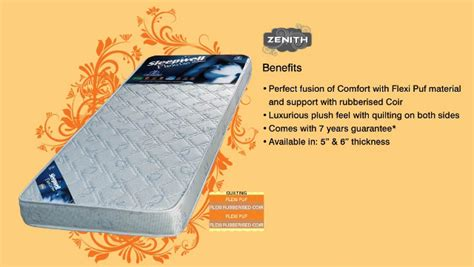 Sleepwell Mattress Price List In Bangalore by Sleepwell Mattress With Friends Sleepwell Energise