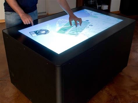 DIY MT 50 Multitouch Table   Make: