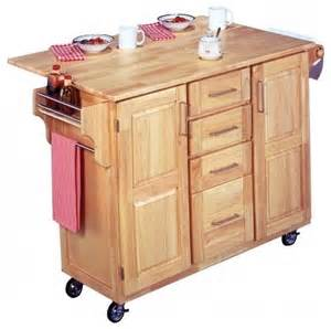 the madison kitchen cart with optional stools