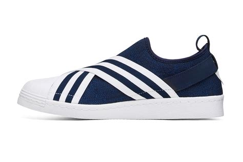 Adidas Superstar Slip On X Mountaineering Original white mountaineering x adidas originals superstar slip on hypebeast