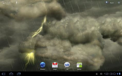 live for android thunderstorm live wallpaper android apps on play
