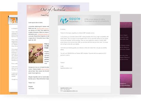 html email templates outlook custom branded outlook 2007templates now you can send