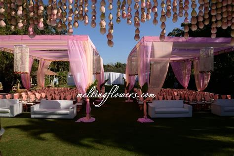 Outdoor wedding Decorations at TempleTree Leisure