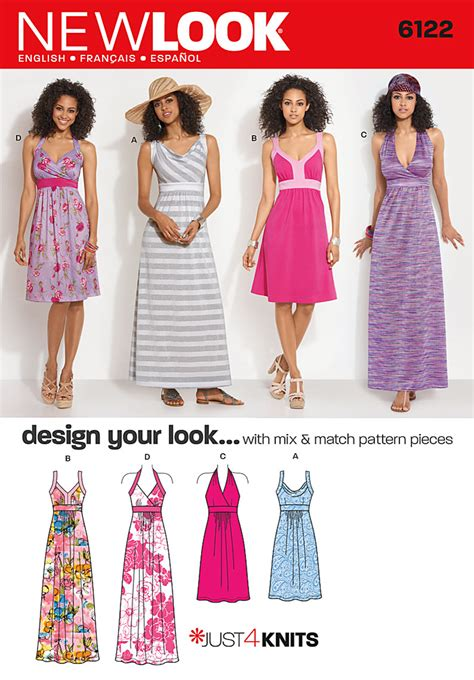 new pattern dress images new look 6122 misses dress