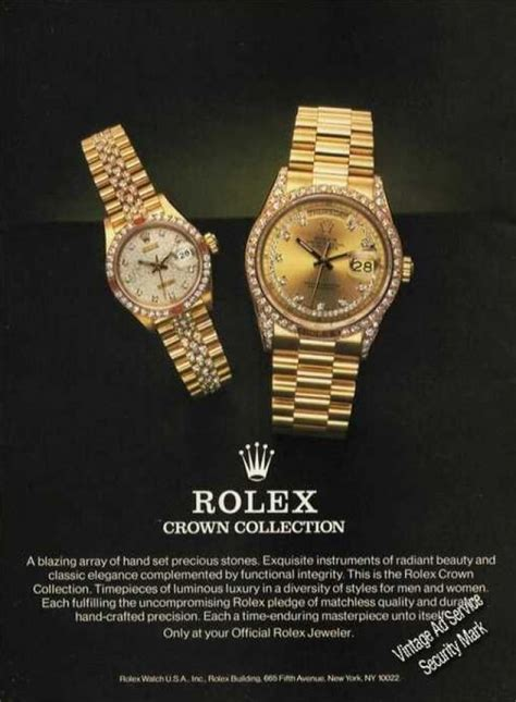 rolex ads vintage jewelry and watches ads of the 1980s page 5