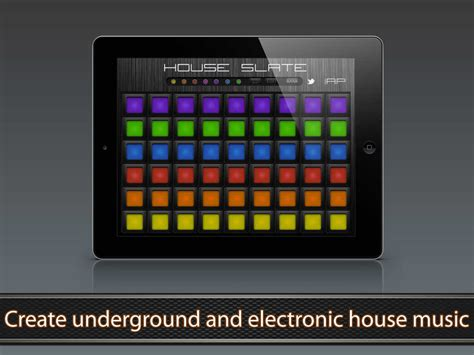 house music app app shopper house slate house music pads music
