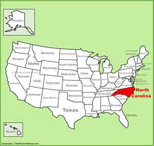 where is carolina on map carolina location on the u s map