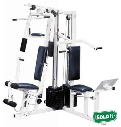 weider 9400 pro complete home weight machine millitary