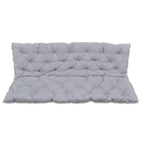cuscini dondolo cuscino grigio per dondolo 150 cm vidaxl it