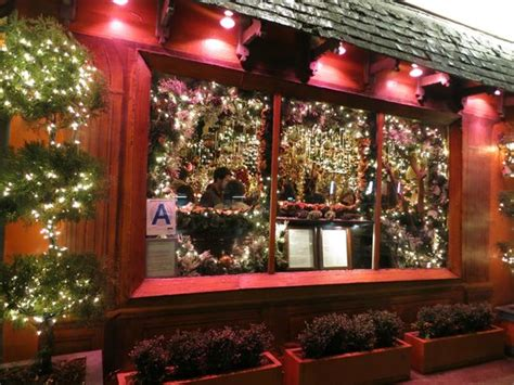 rolf s bar restaurant holiday decor restaurants christmas decorations at rolf s picture of rolf s bar