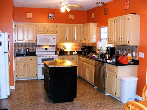 kitchen paint ideas with wood cabinets 12 best ideas of kitchen color schemes with wood cabinets