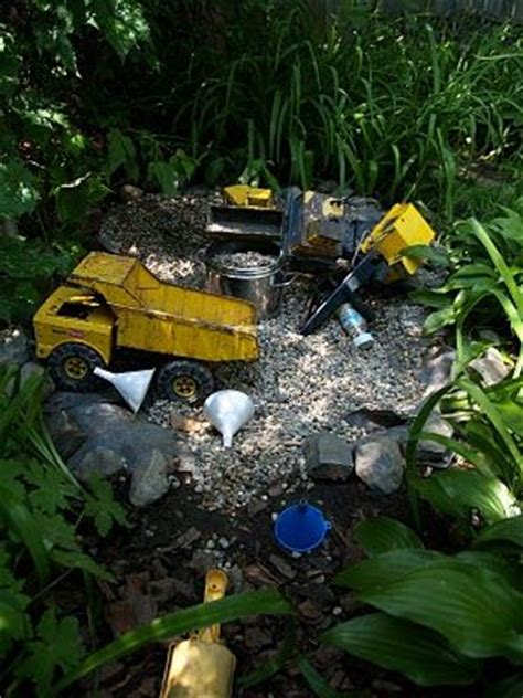 play in your own backyard gravel pit children play and a natural on pinterest