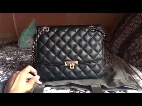 Charles Keith Quilted 9951 review charles keith quilted boxy bag bahasa indonesia