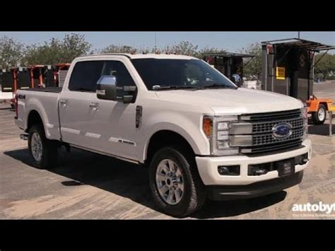 2017 f250 clearance lights 2017 ford f 250 duty platinum crew cab truck test
