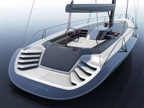 peugeot concept sailboat car body design yacht - Sailboat Car