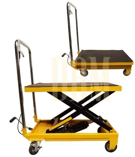 hydraulic table cart home depot mobile 330lb hydraulic table lift 9 quot to 28 quot cart mh